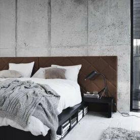 minimal modern bed, storage