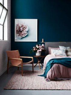 interior-decor-trens-2018-dark-blue-bedroom-decor