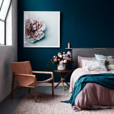 interior-decor-trens-2018-dark-blue-bedroom-decor